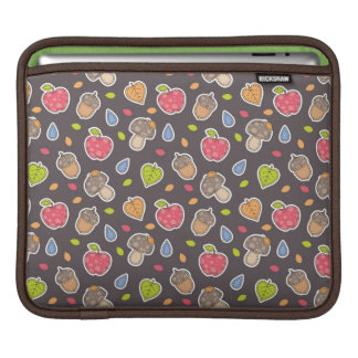 autumn pattern iPad sleeve