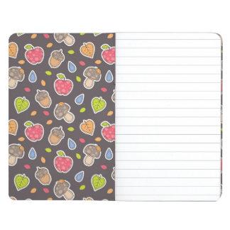 autumn pattern journal