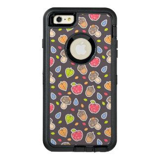 autumn pattern OtterBox defender iPhone case