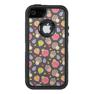 autumn pattern OtterBox iPhone 5/5s/SE case