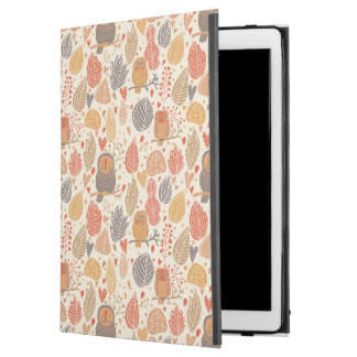 """Autumn pattern. Owls in the forest iPad Pro 12.9"""" Case"""