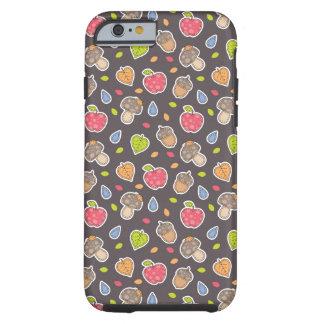 autumn pattern tough iPhone 6 case