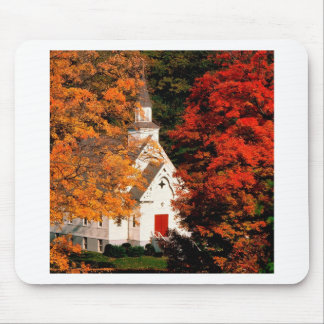 Autumn Peaking Color Vermont Mouse Pads