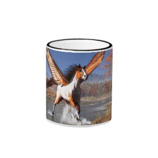 Autumn Pegasus Ringer Mug