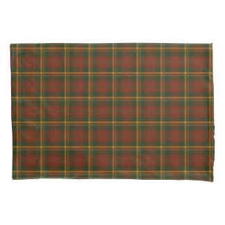 Autumn Plaid Canadian National Tartan Pattern Pillowcase