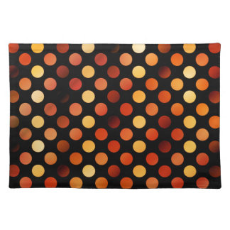 Autumn Polka Dots Placemat