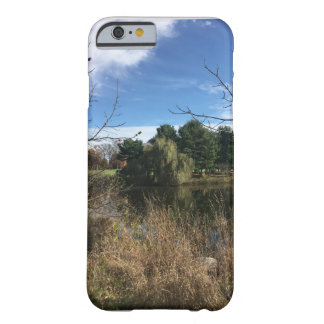 Autumn Pond Pine Trees Barely There iPhone 6 Case