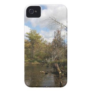 AUTUMN POND SCENE Case-Mate iPhone 4 CASE