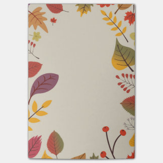 Autumn Post-it Notes