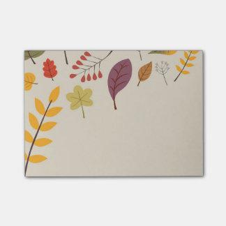 Autumn Post-it® Notes
