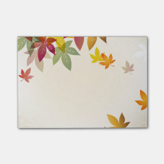 Autumn Post It Notes