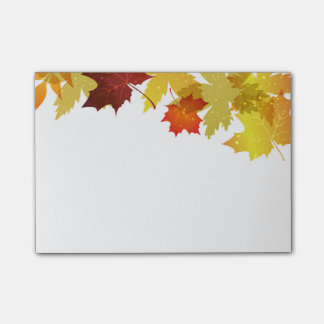 Autumn Post Notes