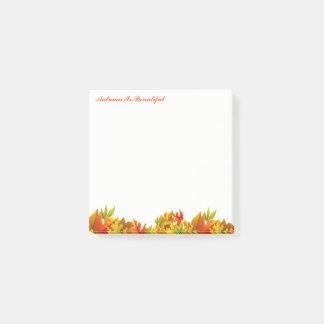 Autumn Post Notes-Autumn Is Beautiful Post-it® Notes