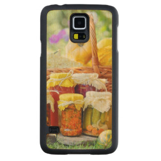 Autumn preserves carved maple galaxy s5 case