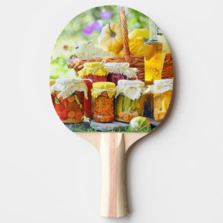 Autumn preserves ping pong paddle