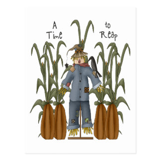 Autumn Primsies · A Time to Reap Post Cards