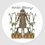 Autumn Primsies · Harvest Blessings Round Sticker