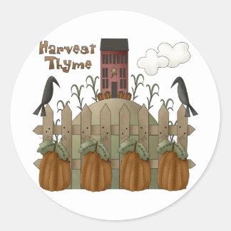 Autumn Primsies · Harvest Thyme Sticker