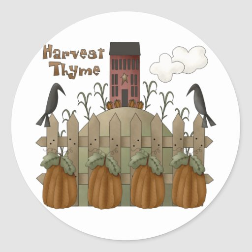 Autumn Primsies · Harvest Thyme Sticker