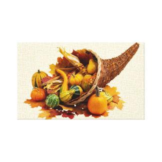 Autumn Pumpkin Canvas Prints