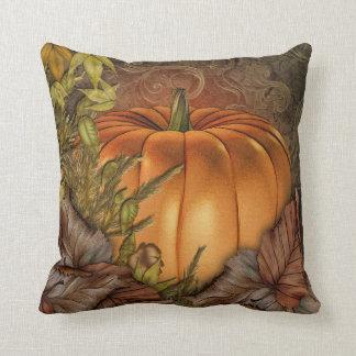 Autumn Pumpkin Cushion