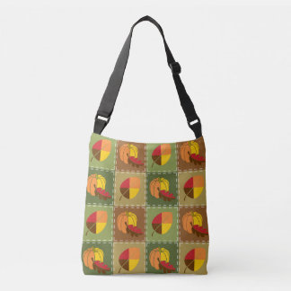 Autumn Quilt All-Over-Print Bag