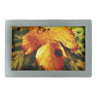 Autumn Rectangular Belt Buckle