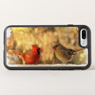 Autumn Red Cardinal Birds Animal OtterBox Symmetry iPhone 8 Plus/7 Plus Case