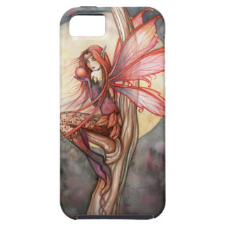Autumn Red Fairy Fantasy Art by Molly Harrison Tough iPhone 5 Case