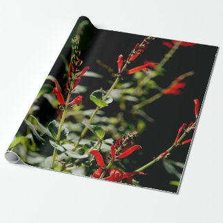 Autumn Red Gift Wraping Paper Wrapping Paper