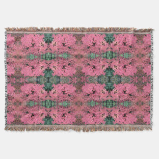 Autumn Red Leaves on Rosehill 779 - 2 Throw Blanket