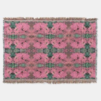 Autumn Red Leaves on Rosehill 779 Throw Blanket