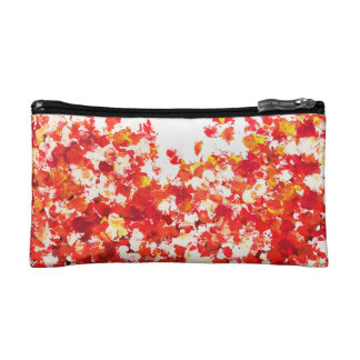 Autumn Red Makeup Bag
