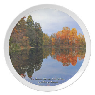 Autumn Reflection Plate