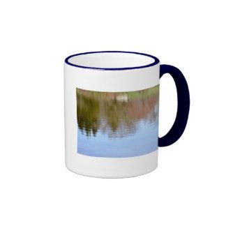 Autumn Reflections Ringer Coffee Mug