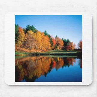 Autumn Reflections Vermont Mousepad