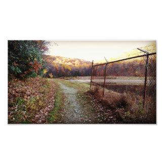 Autumn Reservoir Print