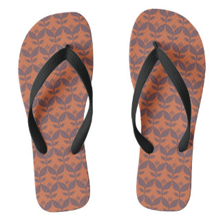 Autumn retro1 flip flops