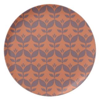 Autumn retro1 plate