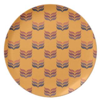 Autumn retro2 dinner plate