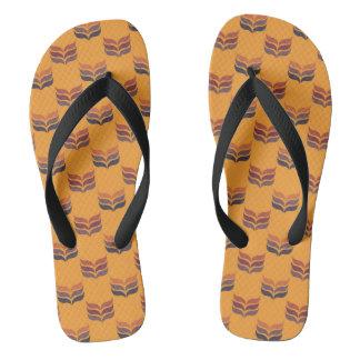 Autumn retro2 flip flops