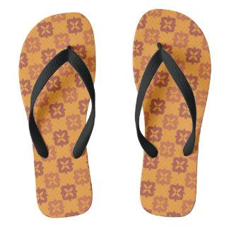Autumn retro3 flip flops