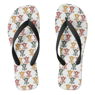 Autumn retro 4 flip flops