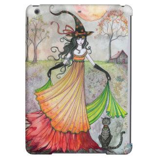 Autumn Reverie Witch Cat Fantasy Art iPad Air Case