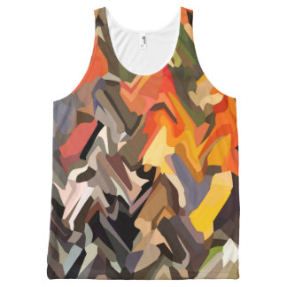 Autumn River All-Over Print Tank Top