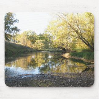 Autumn River Mouse Pad