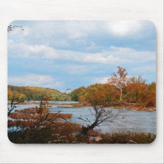 Autumn River Mousepad
