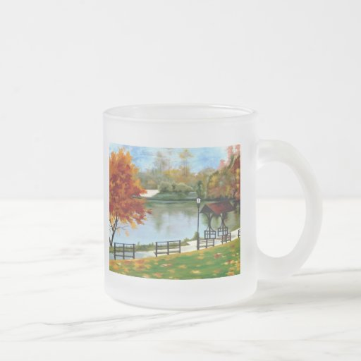Autumn River Mugs