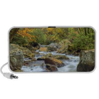 Autumn River Scene Travel Speaker