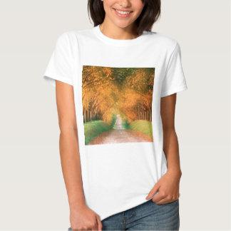 Autumn Road Cognac Region France Shirt